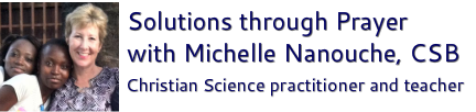 Solutions through Prayer with Michelle Nanouche, CSB